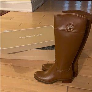 NIB Michael Kors Brown Boots Size 7M